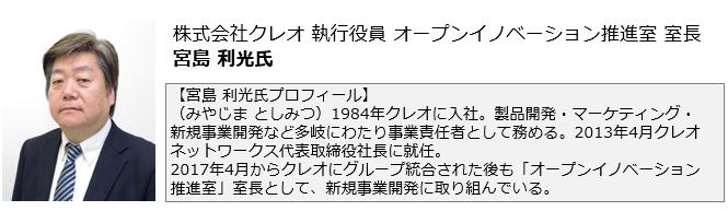 宮島利光profile